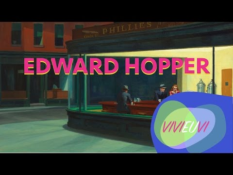 EDWARD HOPPER - 50 FATOS #VIVIEUVI