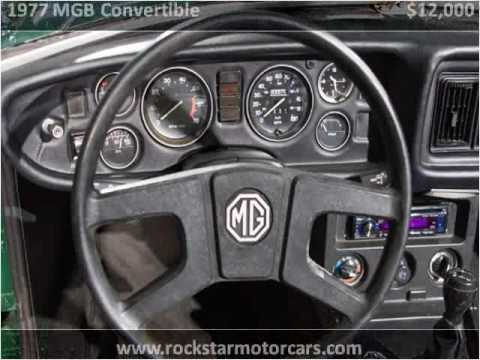 Video of 1977 MG MGB - $11,000.00 Offered by Rockstar Motorcars - HAE3