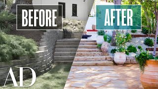 $60K L.A. Backyard Transformation By A Pro Designer | Replace This Space | Architectural Digest