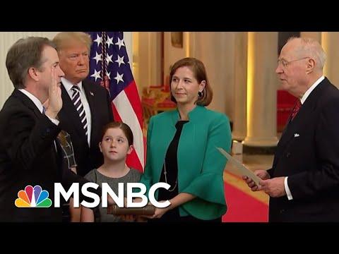 Donald Trump Says Brett Kavanaugh Was Proven Innocent (He Wasn't) | The 11th Hour | MSNBC