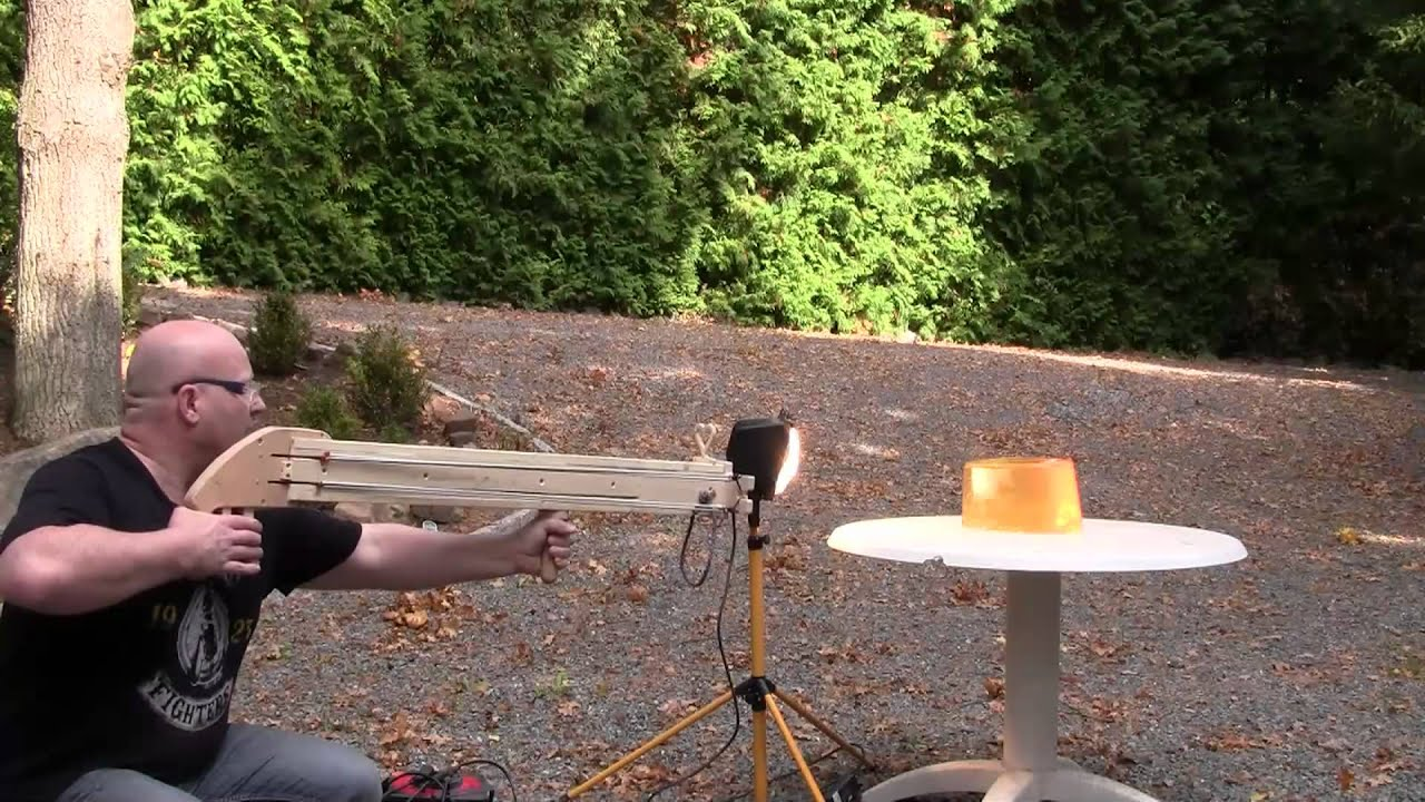 This (NSFW) Slingshot Cannon Shoots Vibrators Like The Little Golden Bullets They Are