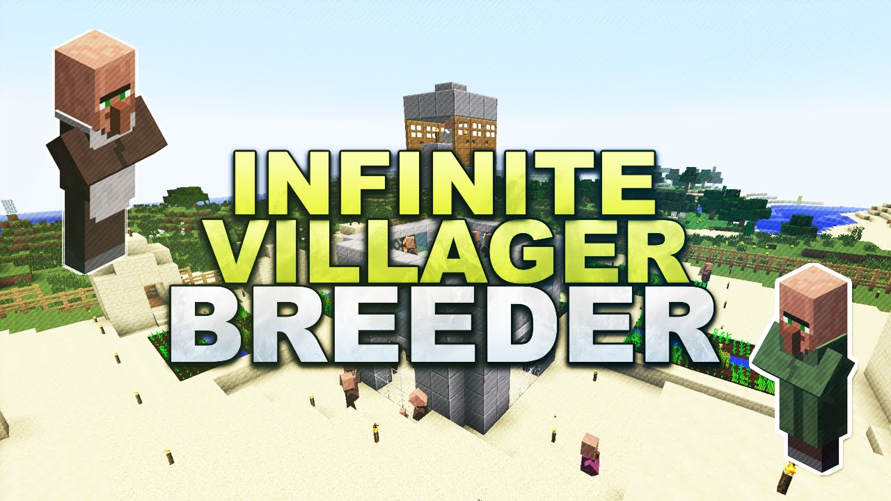 Minecraft Infinite Villager Breeder Tutorial - Minecraft varo jetzt spielen