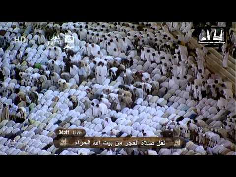 صلاة الفجر مكة المكرمة 29 رجب 1432 المعيقلي