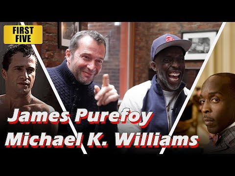 First Five - Hap and Leonard's James Purefoy and Michael K. Williams