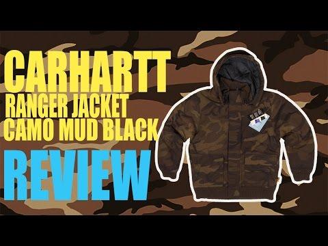 Carhartt® Ranger Jacket Camo Mud Black - quick review