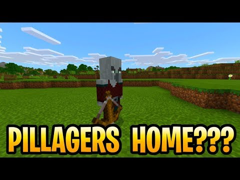 Minecraft Where Are Pillagers From? Village & Pillage Update! 1.15 MCPE, Xbox, Switch & PS4