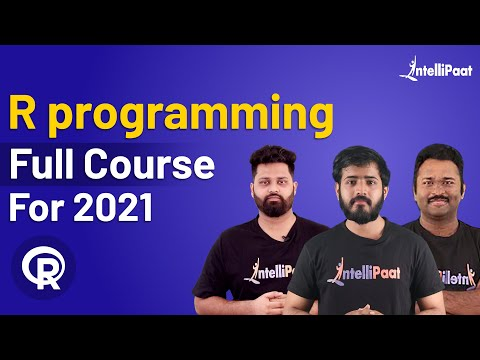 R Tutorial For Beginners | R Programming Course | Learn R ...