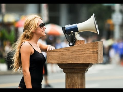 When You Put A Megaphone In The Middle Of The City, People Will Say Nice Things