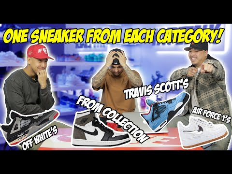 PICKING ONE LAST SNEAKER FOR THE REST OF OUR LIVES! Pt. 2