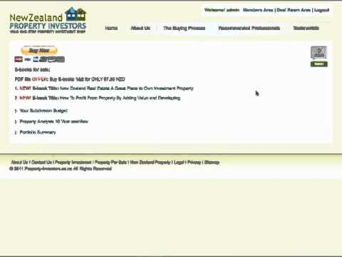 New Zealand Real Estate – Two Must read Property Investing eBooks