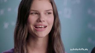 Katharina bekommt Mathe-Nachhilfe und ist in der 8. Klasse. Sie verbessert sich in Mathematik von einer 5 auf eine 2.