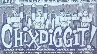 Chixdiggit! - Oviedo, AS (Spain) - La Calleja La Ciega 29SEPT1999