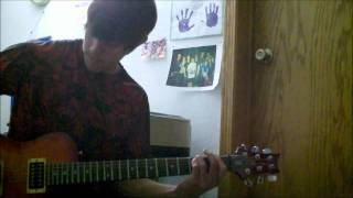 hold on by abandon guitar cover