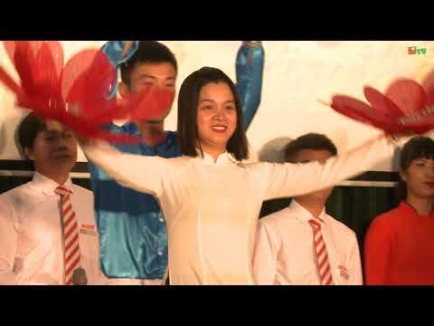 Hội nghị cán bộ, giáo viên, nhân viên triển khai kế hoạch năm học 2019-2020 - Hát múa Vinh Quang Việt Nam - Tập thể giáo viên trường THCS&THPT Quốc tế Thăng Long