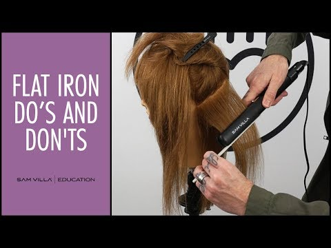 Flat Iron Do's and Don'ts