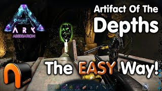 ARK ARTIFACT OF THE DEPTHS Aberration EASY WAY!