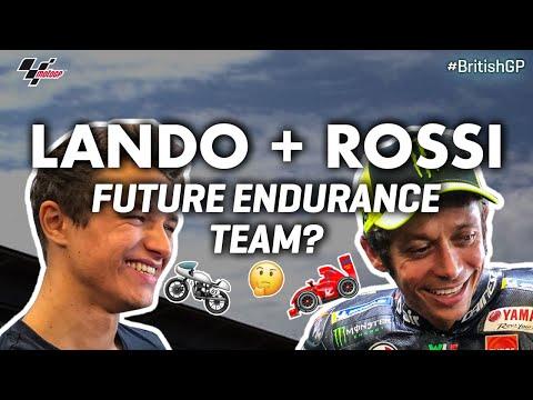 Lando Norris +  Valentino Rossi, future endurance team?! | 2019 #BritishGP