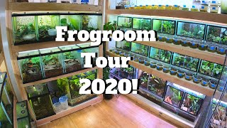 Frogroom Tour March 2020!