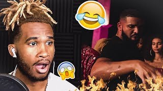 CMON DRAKE BRO! LOL | CHRIS BROWN - NO GUIDANCE (OFFICIAL VIDEO) | REACTION VIDEO