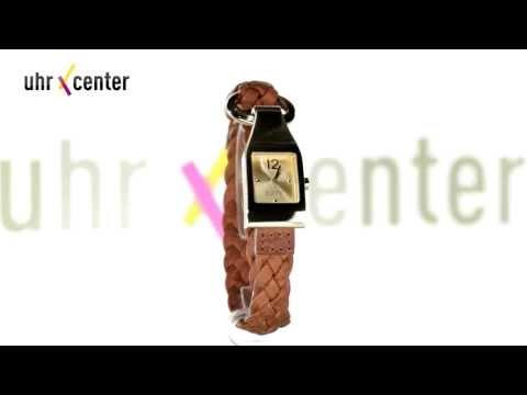 Esprit ES106182004 Buckle Up Brown Damen-Armbanduhr