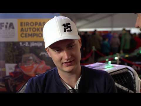 Reinis Nitišs par plāniem Latvijas 2019. gada autosporta sezonā