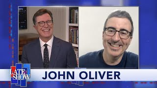 John Oliver: I Can't Wait To Rub My Hand In Your Face thumbnail