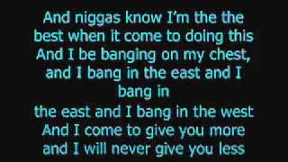 Look at Me Now - Chris Brown Ft. Busta Rhymes & Lil' Wayne (Lyrics)