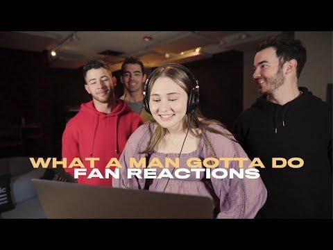 Jonas Brothers - What A Man Gotta Do (Fan Reaction Video)