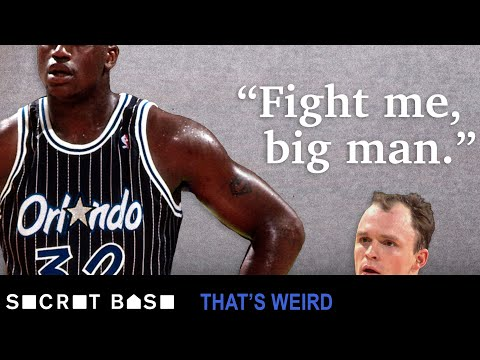 Shaq once had to fight his grouchy little teammate