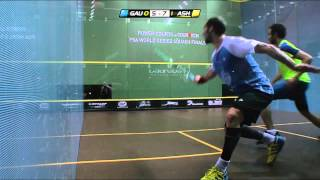 Squash : Power Courts 2013 PSA World Series Finals - SF Roundup Gaultier v Ashour