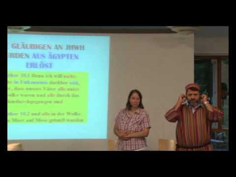 Hebräische Wurzeln des christlichen Glaubens (Seminar mit Eddie Chumney)