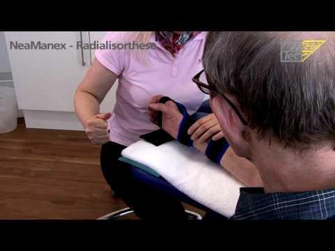 Behandlung von Nackentrainer