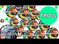 PRO TROLLING NOOB IN AGARIO 7 Agar io Solo Gameplay