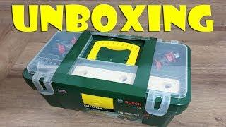Unboxing BOSCH Spielzeug Werkzeugkiste - BOSCH toolbox toy