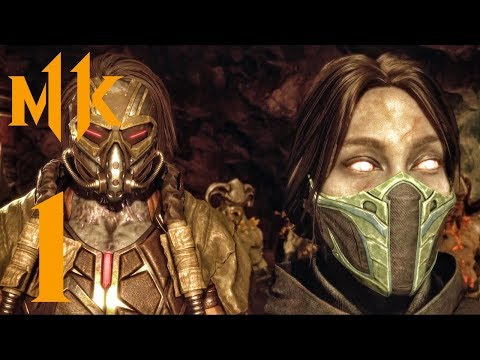 Mortal Kombat 11 - Chapter 1 - Cassie Cage (Gameplay Part 1) Story Mode