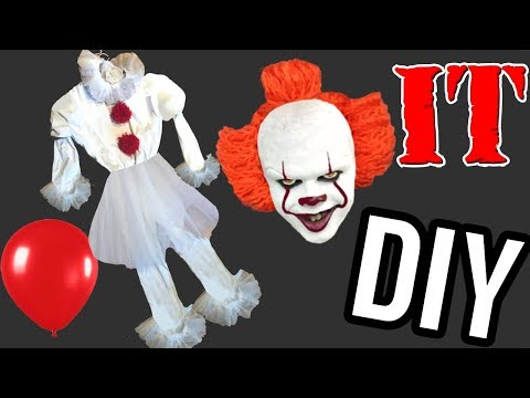 Disfraz payaso It casero para Halloween. Ideas FACILES DIY