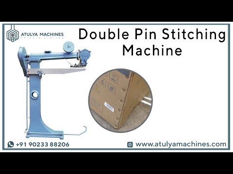 Double Pin Box Stitching Machine