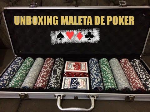 Unboxing Maleta de Poker (Fichas de 11,5G brilhantes).