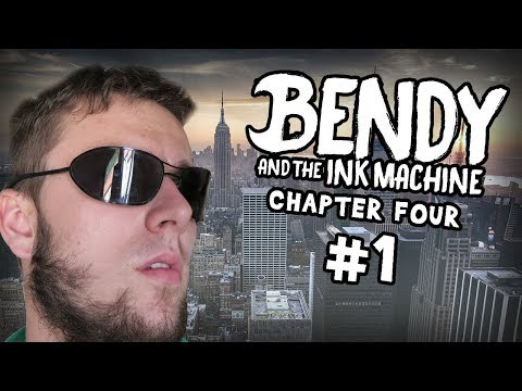IŠIEL SOM DO NEW YORKU? | Bendy and the Ink Machine: Chapter Four | Part 1 | SK Let's Play