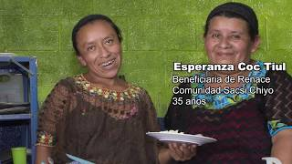 Nuestras comunidades - Beneficiaria de Mejores Familias