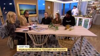 Hipphopp-kollektivet Tjuvjakt: Det som förenar oss ska vara våra olikheter - Nyhetsmorgon (TV4)