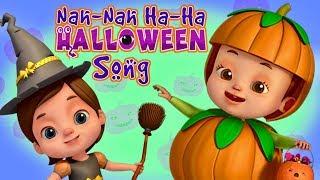 Nah Nah Ha Ha - Halloween Song   Baby Ronnie   Nursery Rhymes & Kids Songs   3D Rhymes