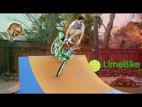 electric bike vs backyard skatepark