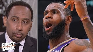 'Kevin Durant didn't disrespect LeBron James' - Stephen A. | First Take