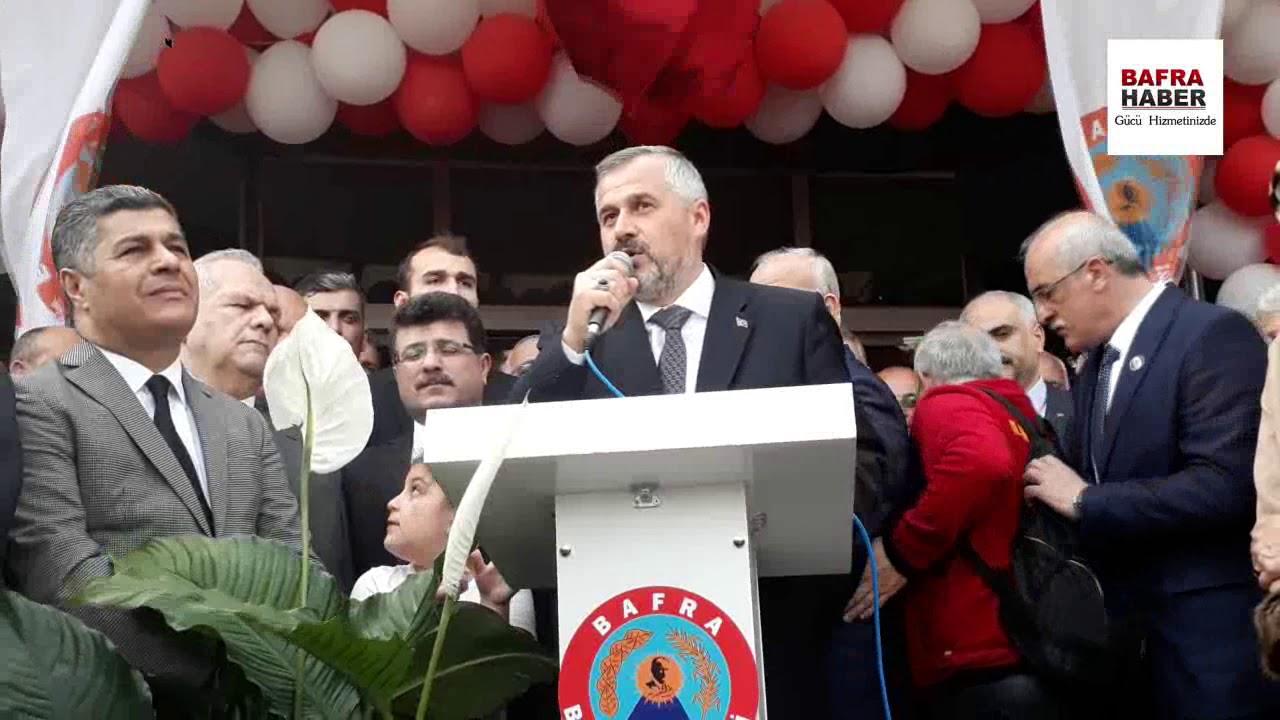 Bafra Belediye Başkanı Kılıç, mazbatasını aldı