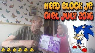 Nerd Block Jr Girl July 2016 Unboxing