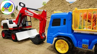 Rebellious Excavator - Toys for Kids | Kid Studio