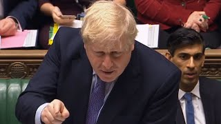 video: Boris Johnson branded a 'part-time Prime Minister' over response to floods