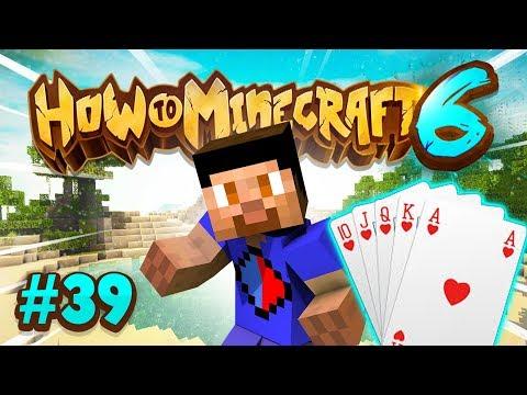 BUILDING A CARD MACHINE! - How To Minecraft #39 (Season 6)