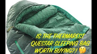 Thermarest / Therm-a-rest Questar sleeping bag Review 2020